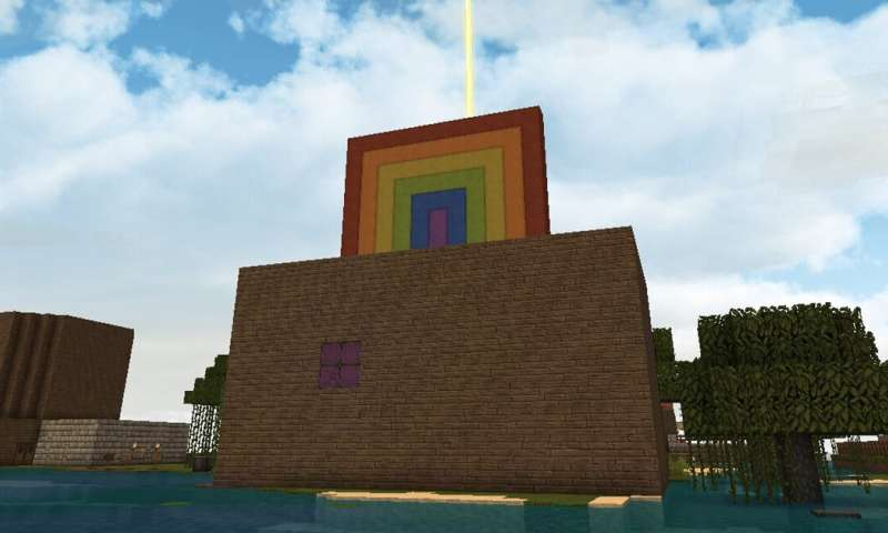 How a Minecraft world has built a safe online playground for autistic kids