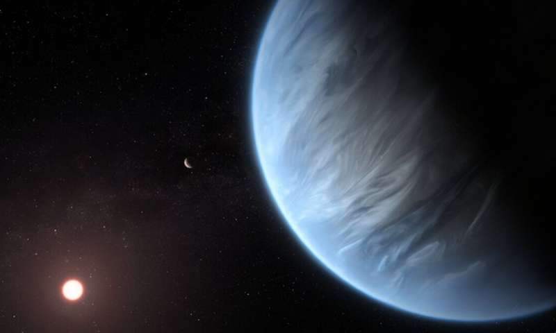 How astronomers detected water on a potentially habitable exoplanet for the first time