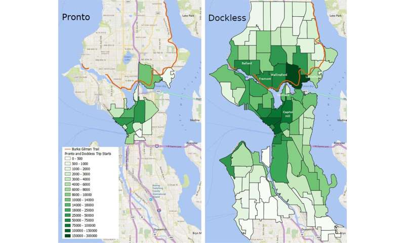 How bike sharing in Seattle rose from the ashes of Pronto's failure