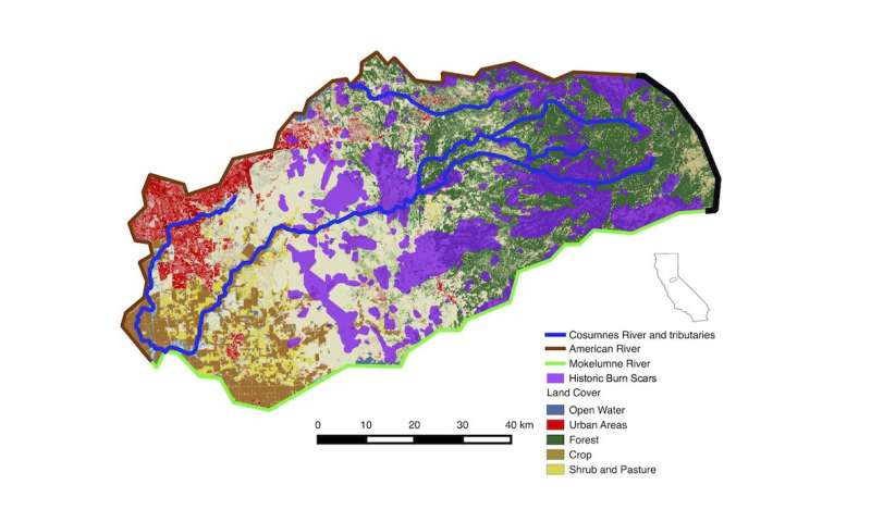 How California wildfires can impact water availability