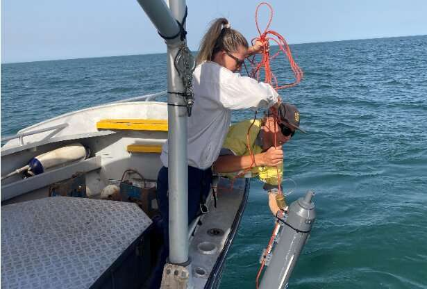 How climate affects coastal waters of Exmouth Gulf