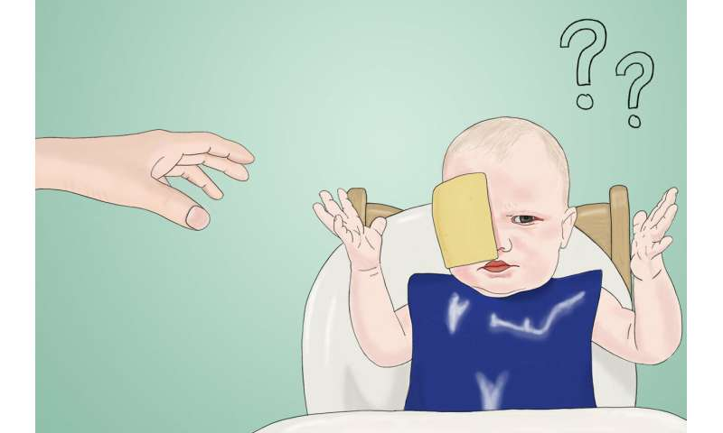 How does the cheese challenge on Twitter, Instagram, and Facebook affect a baby's developing brain?