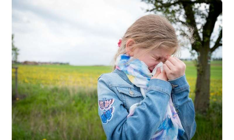 How do you know if your child has hay fever and how should you treat it?