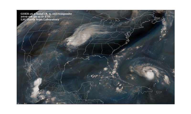 How hurricanes can affect weather after landfall