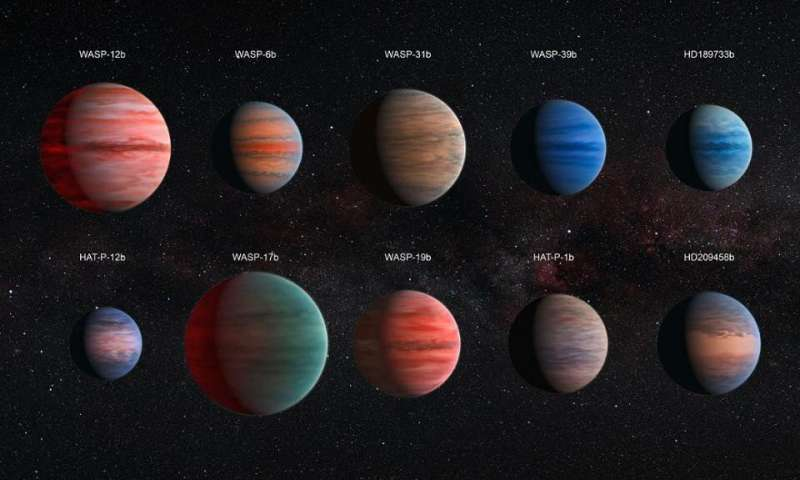 How large can A planet be?