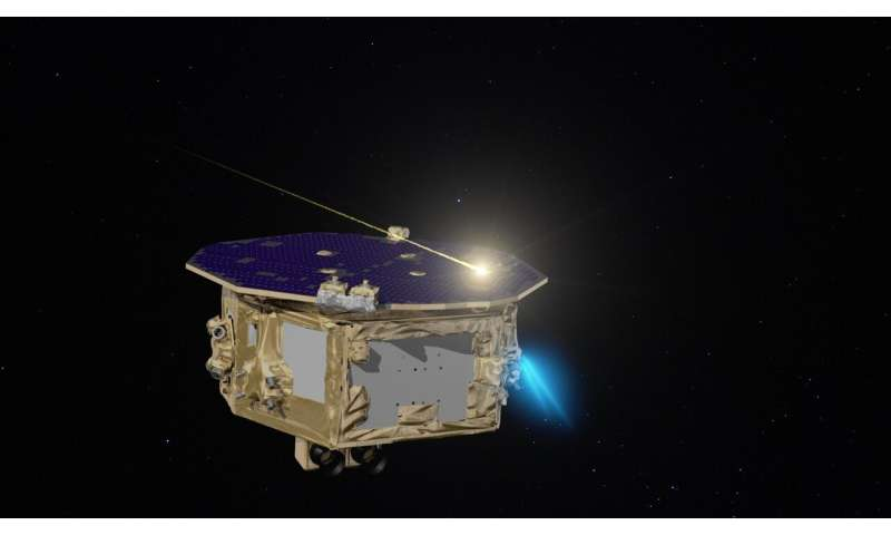 How LISA pathfinder detected dozens of 'comet crumbs'