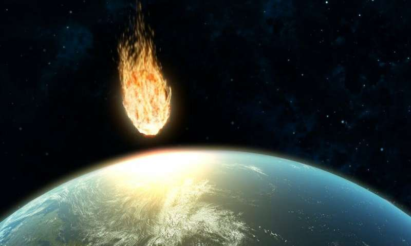 How the dinosaurs went extinct: asteroid collision triggered potentially deadly volcanic eruptions
