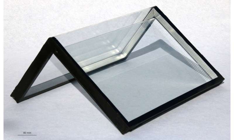 How to bend flat glass perfectly around corners
