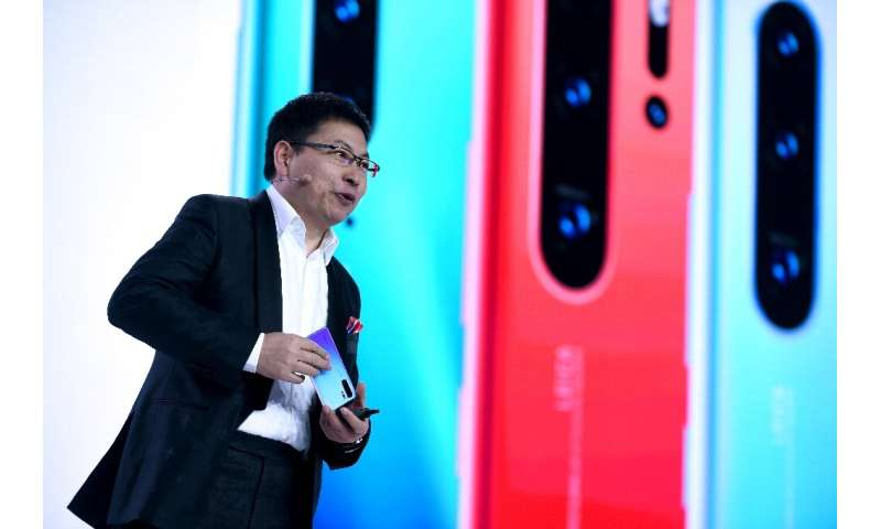 Huawei executive Richard Yu has acknowledged the existence of the firm's own operating system