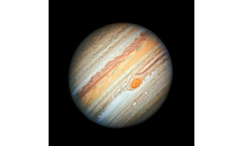 Hubble showcases new portrait of Jupiter
