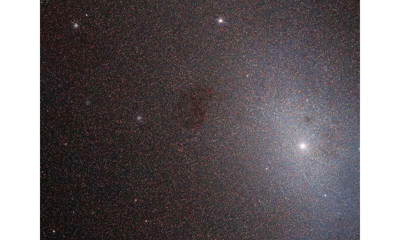 Hubble takes closer look at not-so-'dead' neighbor