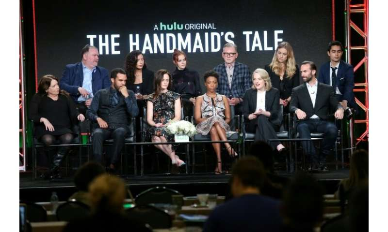 "Hulu has gained viewers with its original production ""The Handmaid's Tale"""