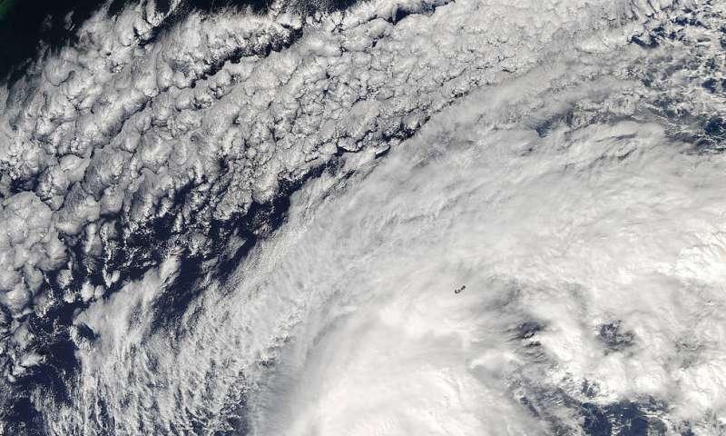 Hurricane Nicole sheds light on how storms impact deep ocean