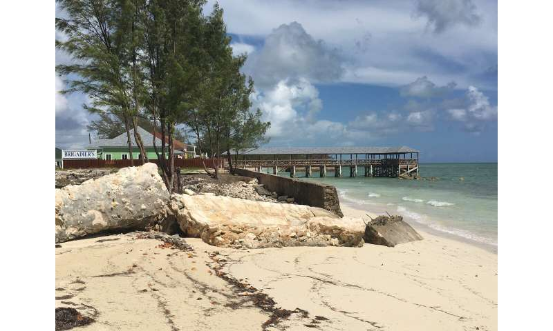 Hurricane resilience in the Bahamas