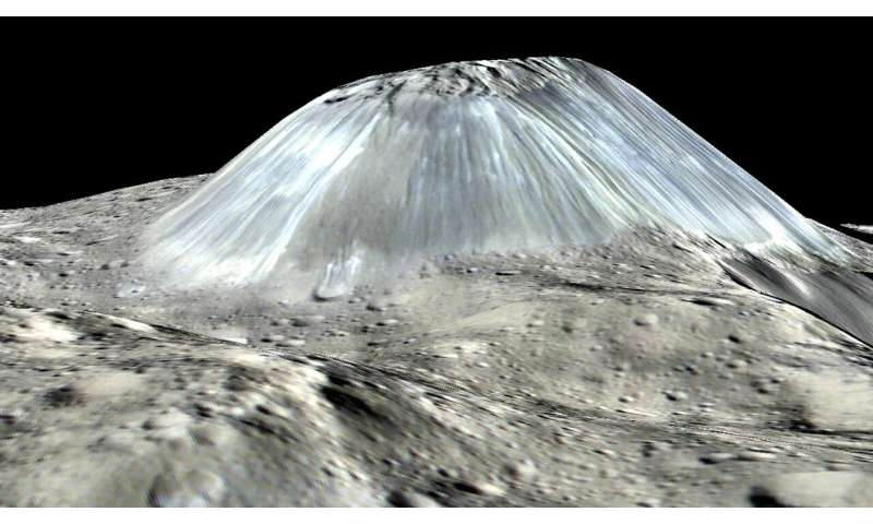 Image: Ahuna Mons on Ceres
