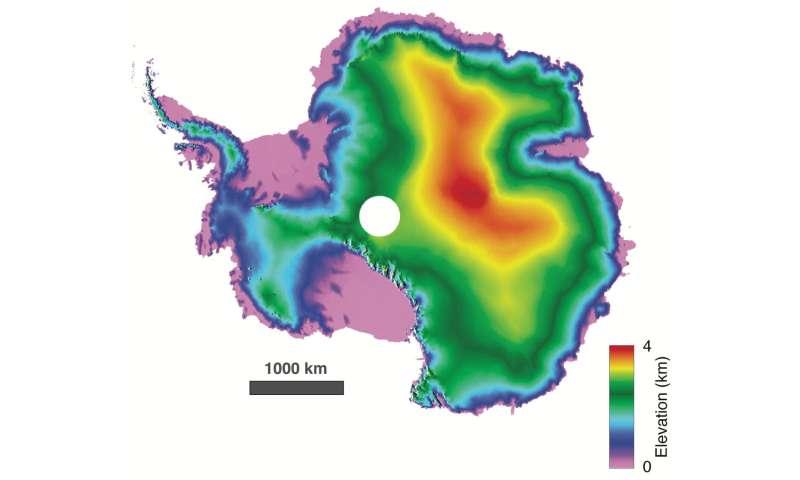 Image: Antarctica detailed in 3-D