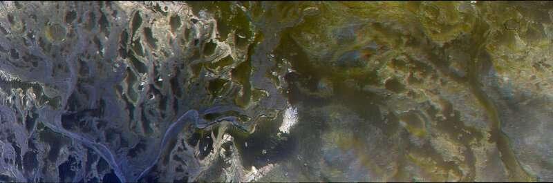Image: Eberswalde crater delta – 3-D