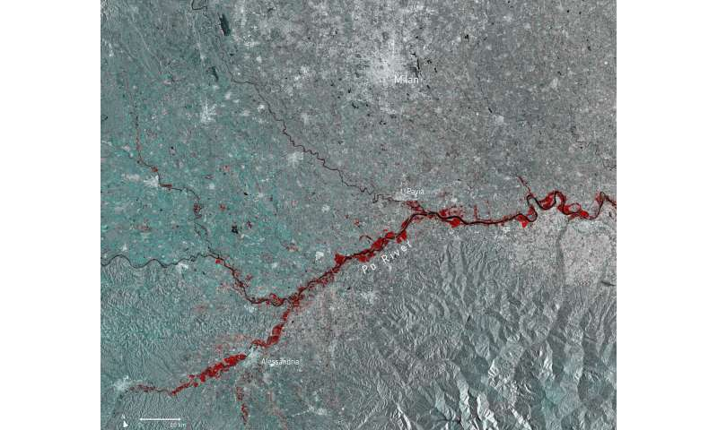 Image: Floods in northern Italy