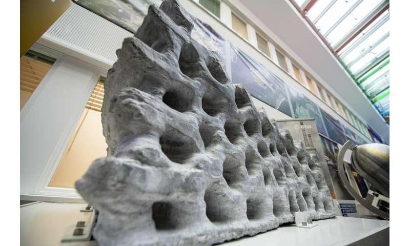 Image: Lunar building block