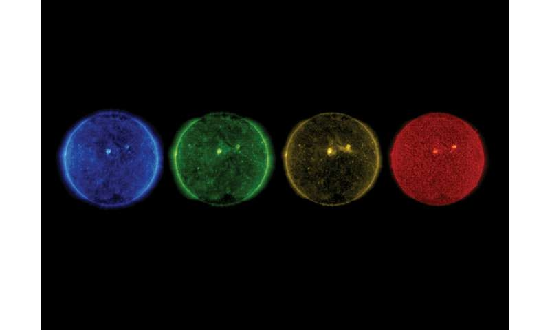 Image: SOHO's equinox sun