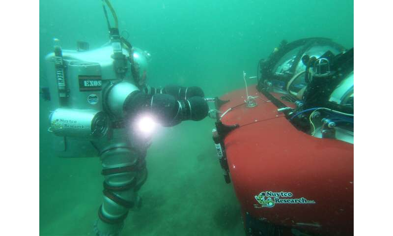Image: Subsea scouting with NEEMO NXT