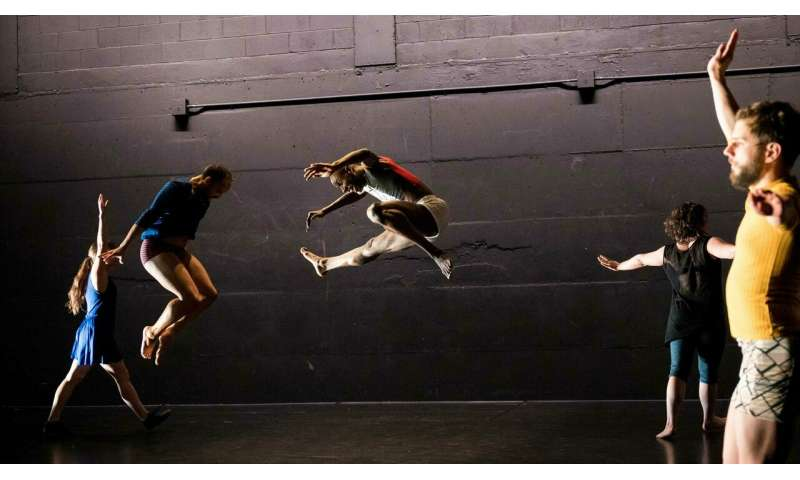 Improvised dance embodies complexities of social decisions