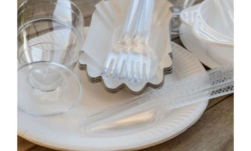 In addition to the ban on a dozen kinds of disposable plastic products, such as straws, cutlery and cotton buds, the EU will enc