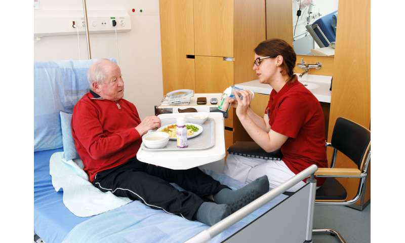 Individual nutrition shows benefits in hospital patients