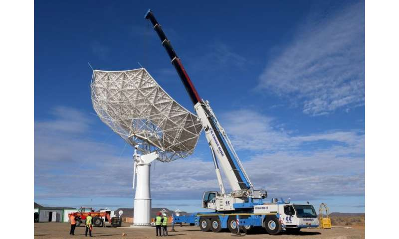 Individual telescope of the Square Kilometre Array can also be used to study CMB