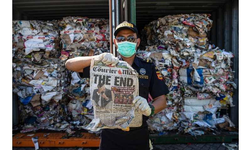 Indonesia last month said it would return more than 210 tonnes of garbage to Australia after authorities said they uncovered haz