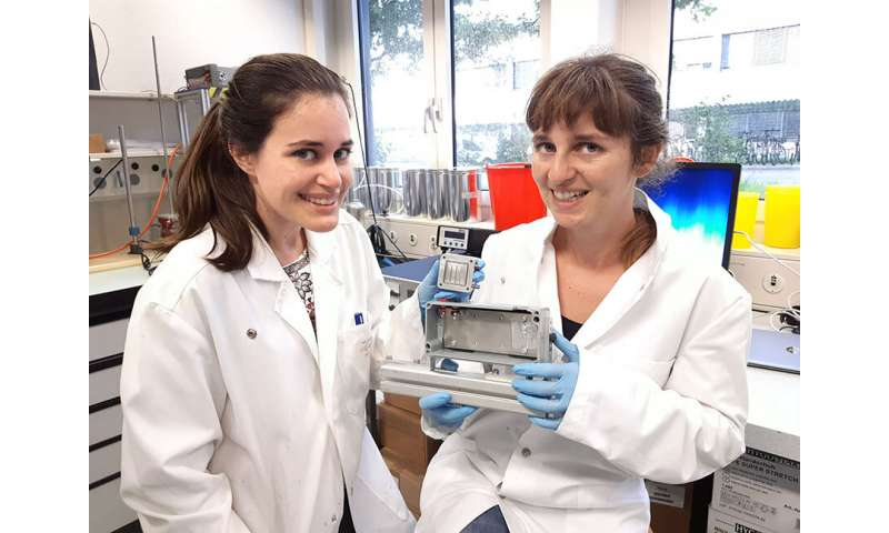 Inside the fuel cell: Imaging method promises industrial insight