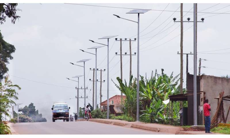 Insights from Uganda on why solar street lights make sense