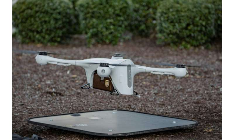 In the United States, UPS has launched parcel deliveries using unmanned drones