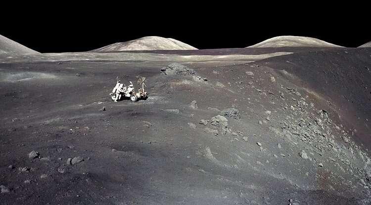 Ion beams and atom smashers: secrets of moon rocks