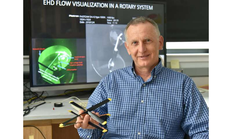 Ion wind technology breakthrough takes flight at SUNY Oswego