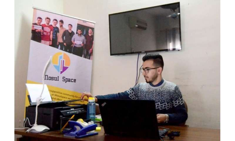 "Iraqi youth are also participating in the ""Mosul Space"",  that city's incubator for would-be entrepreneurs in northern"