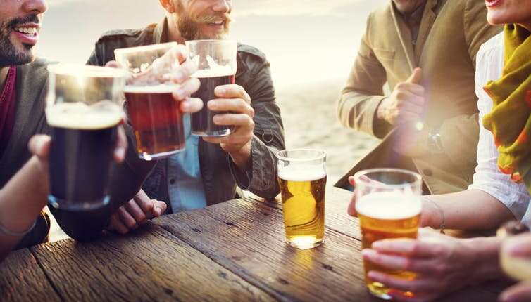 Is moderate drinking healthy?