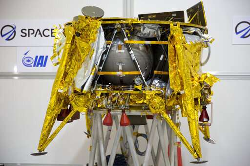 Israeli spacecraft enters lunar orbit ahead of moon landing