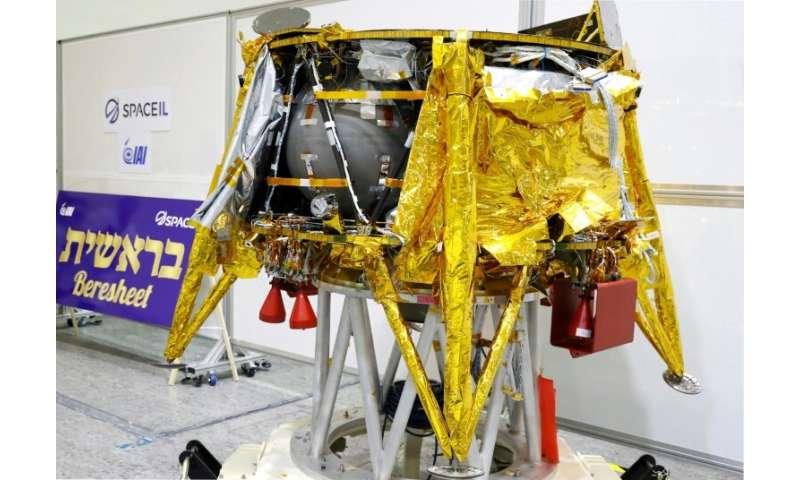 Israel's first space engine, Beresheet (Genesis)
