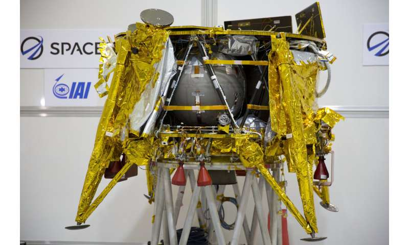 Israel's SpaceIL says it won't try second moonshot