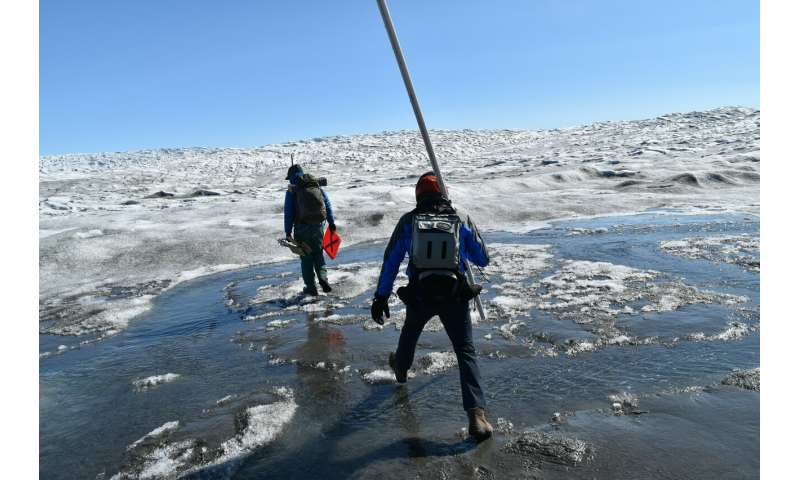 It's raining on the Greenland ice -- in the winter