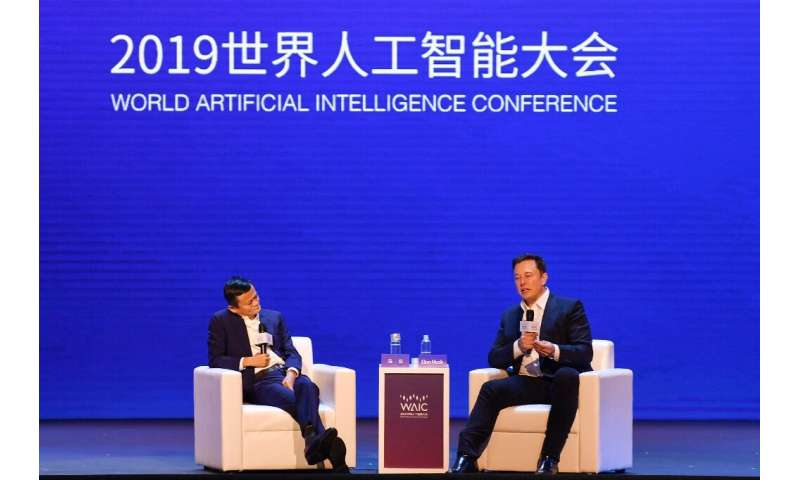 Jack Ma and Elon Musk faced off in an animated debate about AI