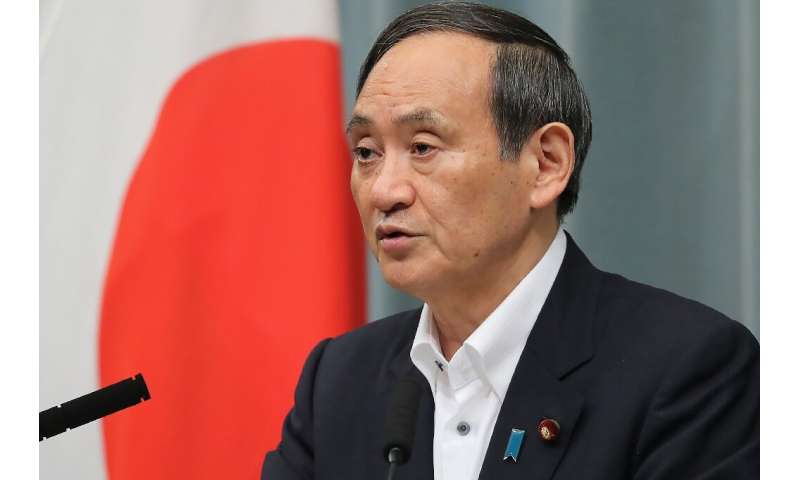 Japanese government spokesman Yoshihide Suga said no abnormalities were reported at the country's nuclear power plants following