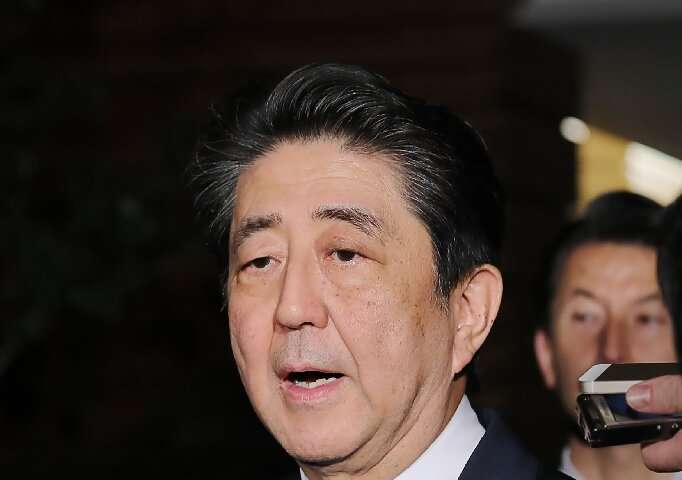 """Japan's Prime Minister Shinzo Abe said his government would be on """"maximum alert"""" following the strong earthquake"""