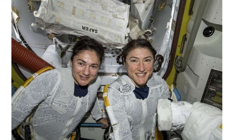 Jessica Meir and Christina Koch made history on October 18, 2019 when they became the first all-women team to carry out a spacew