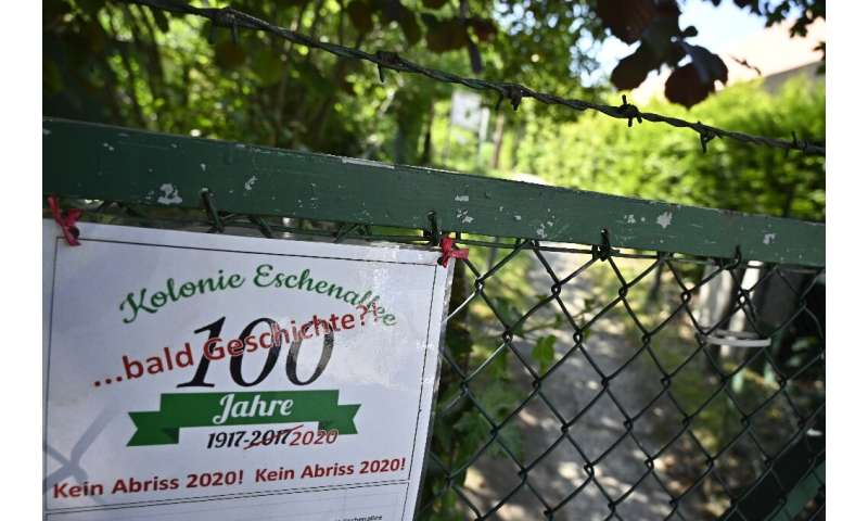 Juergen Kropp, professor at the Potsdam Institute for Climate Impact Research, said allotments make an environmental contributio