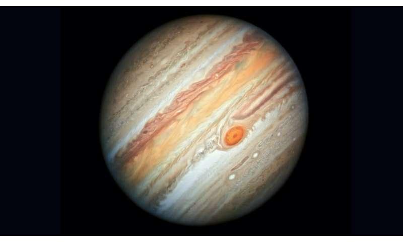 Jupiter shows its true stripes