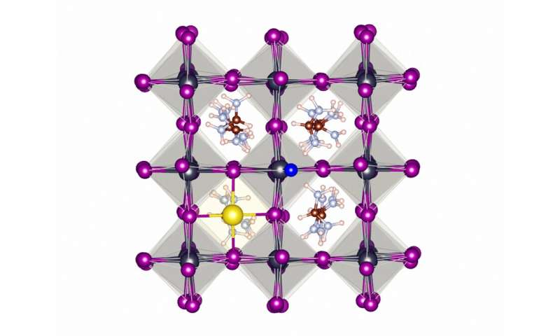 Just like toothpaste: fluoride radically improves the stability of perovskite solar cells