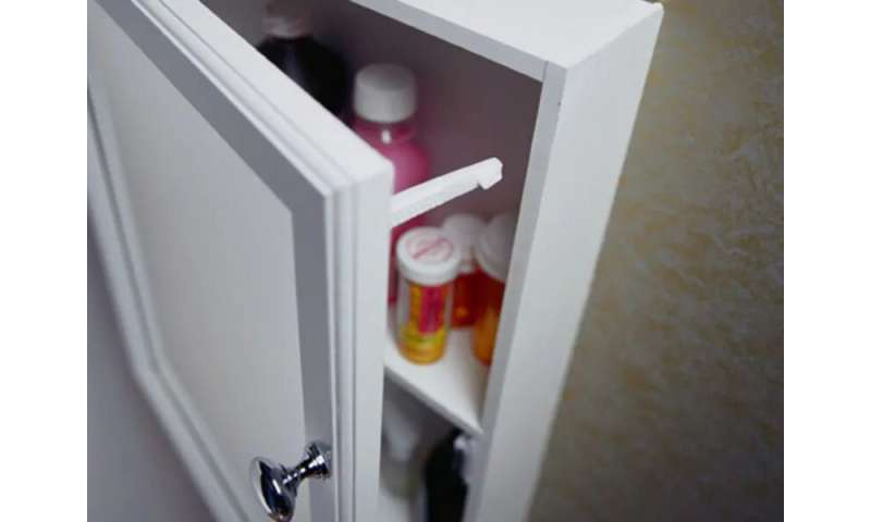 Keep unused meds out of the hands of addicts
