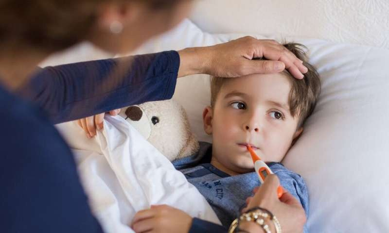 Kids are more vulnerable to the flu – here's what to look out for this winter